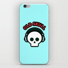 Old Skull iPhone & iPod Skin