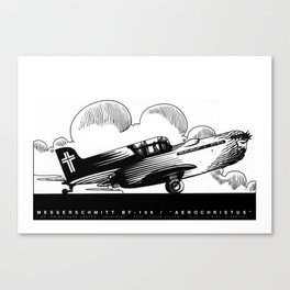 BF 109 Aerochristus Canvas Print