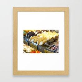 An Italian Dessert Feast Framed Art Print