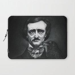 Edgar Allan Poe Portrait Laptop Sleeve