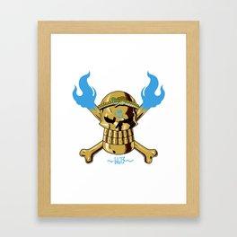 Jolly Wrecker Framed Art Print