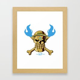 Jolly Wrecker Framed Art Print