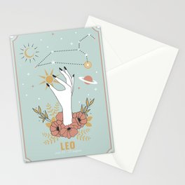 Leo Zodiac Series Stationery Cards