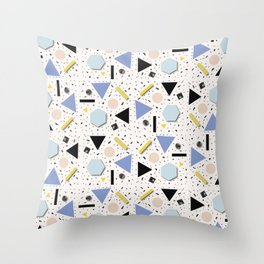 Shapes Everywhere Throw Pillow