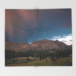 Wind River Range 1970s, Box 3, slide 19 Throw Blanket