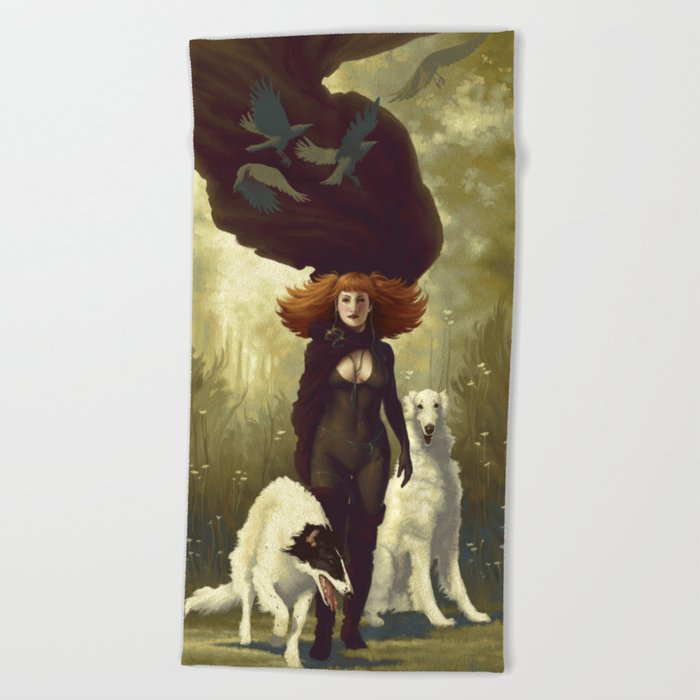 Dogs Beach Towel