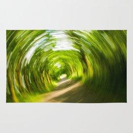Green Vortex Rug