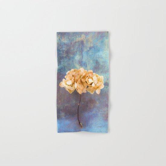 Dried Hydrangea I Hand & Bath Towel
