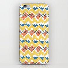 Linocut Tribal iPhone & iPod Skin