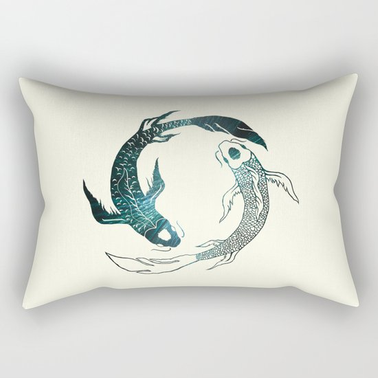 Balance in the Universe Rectangular Pillow