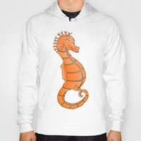 seahorse Hoodies featuring Seahorse by mailboxdisco