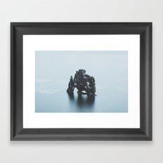 Hvitserkur, Iceland Framed Art Print