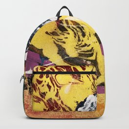 Abstract Two Backpack