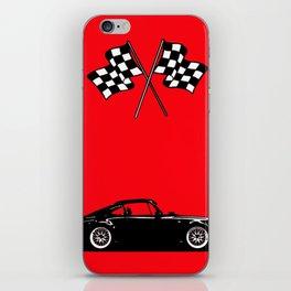 RED FAST CAR iPhone Skin
