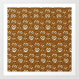 Poop Emoji Art Print
