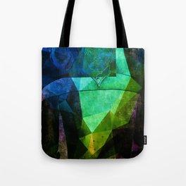 Alien Mindscape Tote Bag