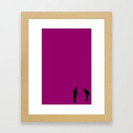 Shadow Play Framed Art Print
