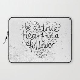TRUE HEART Laptop Sleeve