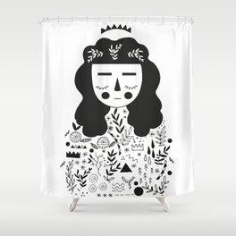 Symbols Shower Curtain