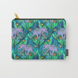 Little Elephant on a Jungle Adventure Carry-All Pouch