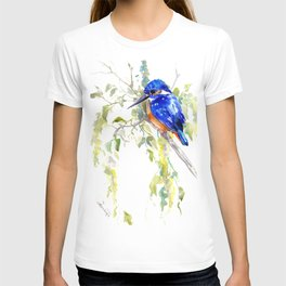 Kingfisher on the Tree T-shirt