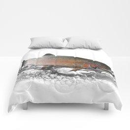 Migrating Steelhead Trout Comforters