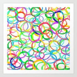 Loominous Art Print