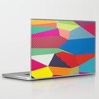 dots Laptop & iPad Skins featuring Dots by Joe Van Wetering