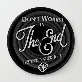 dont worry Wall Clock