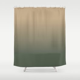 Evening in the Marsh Shower Curtain