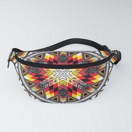 Sacred Places Red Fanny Pack