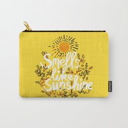 Smells Like Sunshine Carry-All Pouch