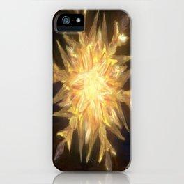 Ice Chandelier iPhone Case