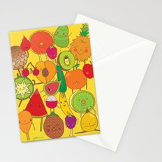 Veggies Fruits Stationery Cards