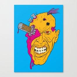 Knife-Eye Canvas Print