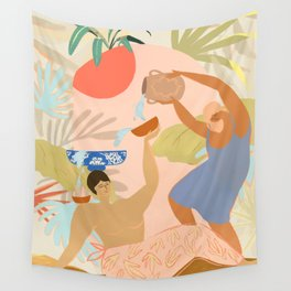 Water Play Wall Tapestry