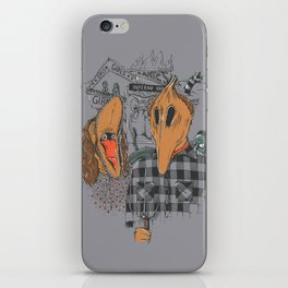 Beetle Gothic - A portrait of the recently deceased iPhone Skin