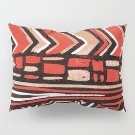 Aztec lino print Pillow Sham