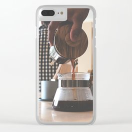 art in the craft Clear iPhone Case