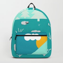 Grazing sheep Backpack