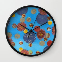 Lunares Wall Clock