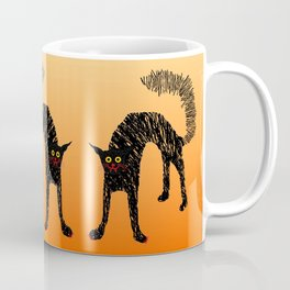Black Cat 01 Coffee Mug