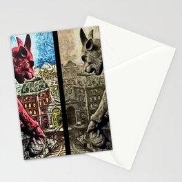 The Night Watch, A Paris Mythos by Jeanpaul Ferro Stationery Cards