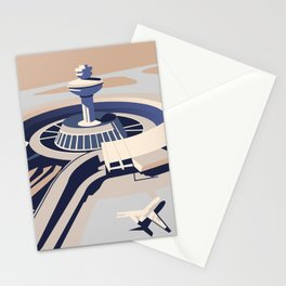 Soviet Modernism: Zvartnots airport, Armenia Stationery Cards