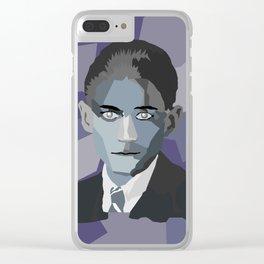 Franz Kafka Clear iPhone Case