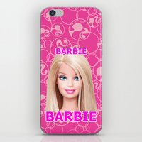barbie iPhone & iPod Skins featuring Barbie by Maxvision