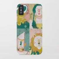 oz iPhone & iPod Cases featuring Oz by StinkyInky_Jess