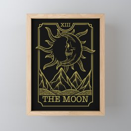 The Moon Framed Mini Art Print