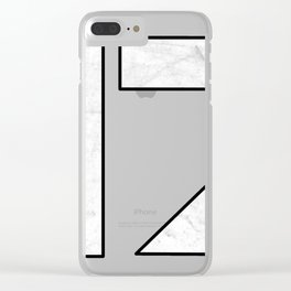 N7 Mass effect Clear iPhone Case