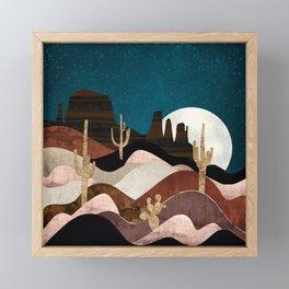 Desert Stars Framed Mini Art Print